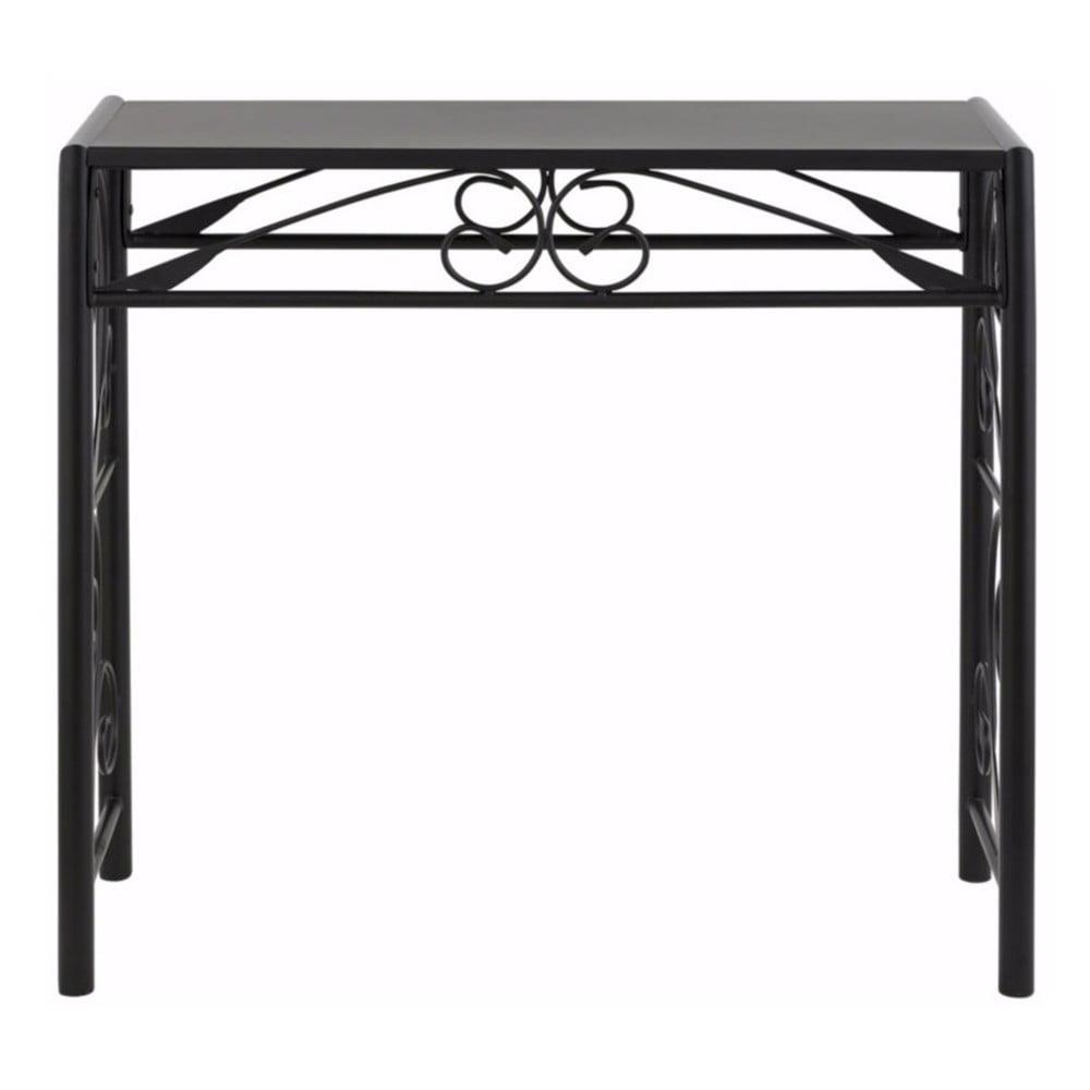 Černý konzolový stolek Støraa Isabelle