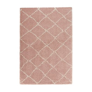 Covor Mint Rugs Allure Ronno Rose Creme, 120 x 170 cm, roz