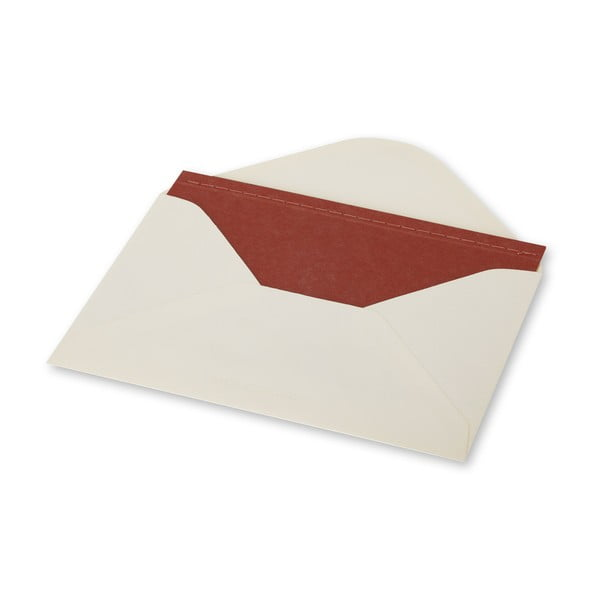 Dopisní set Moleskine Terracotta, zápisník + obálka