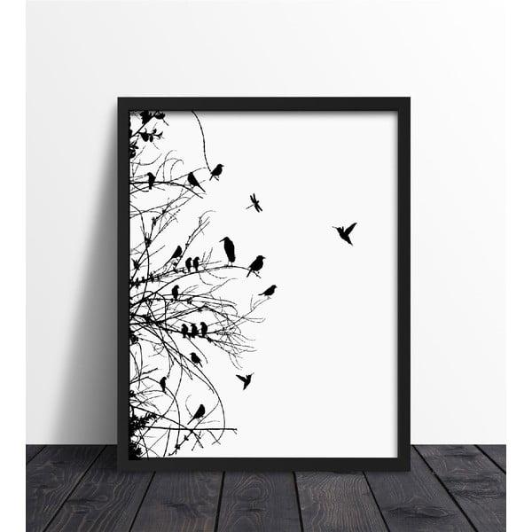 Zarámovaný plakát We Love Home Primavera, 40x50cm