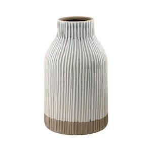 Šedá kameninová váza Ladelle Nori