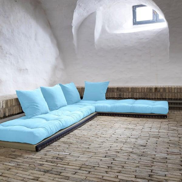 Canapea modulară Karup Chico Celeste