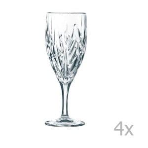 Sada 4 sklenic z křišťálového skla Nachtmann Imperial Iced, 340ml