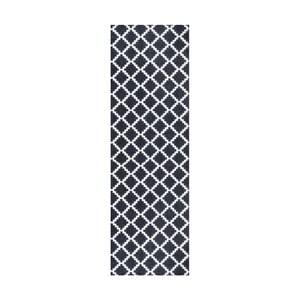 Černobílý běhoun Hanse Home Magic Elegance, 50x150cm