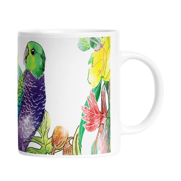Keramický hrnek Parrot Talking, 330 ml