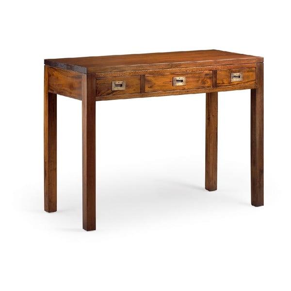 Pracovní stůl z mahagonového dřeva Moycor Flamingo