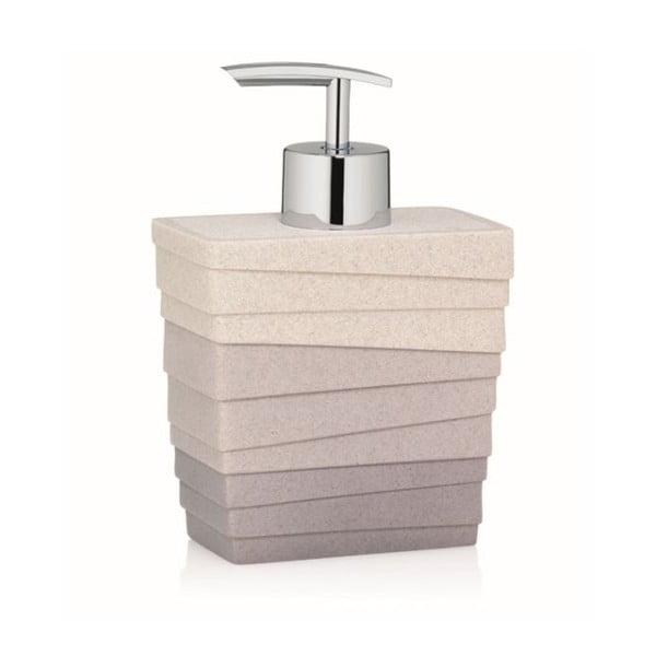 Hnědý dávkovač na mýdlo Kela Valura