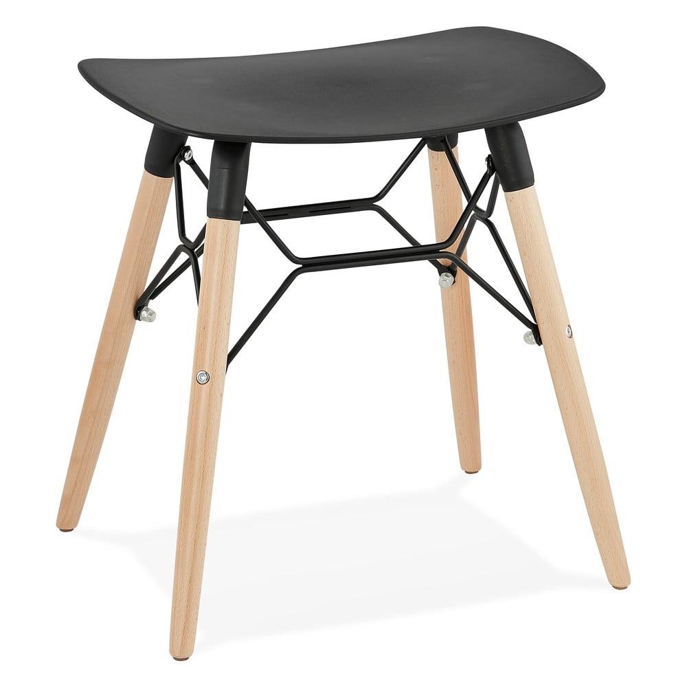 Černá stolička Kokoon Jartel