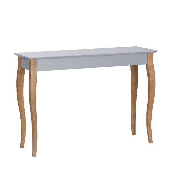 Tmavosivý odkladací konzolový stolík Ragaba Dressing Table, 105×74cm