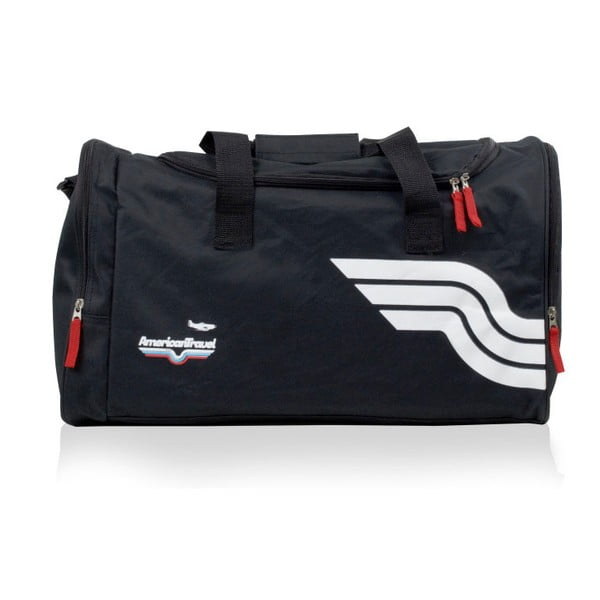 Czarna torba sportowa American Travel Boston