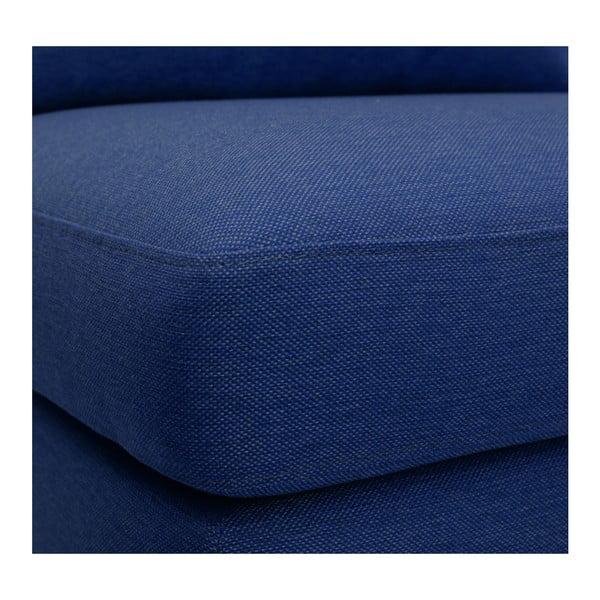 Modré křeslo Vivonita Liam