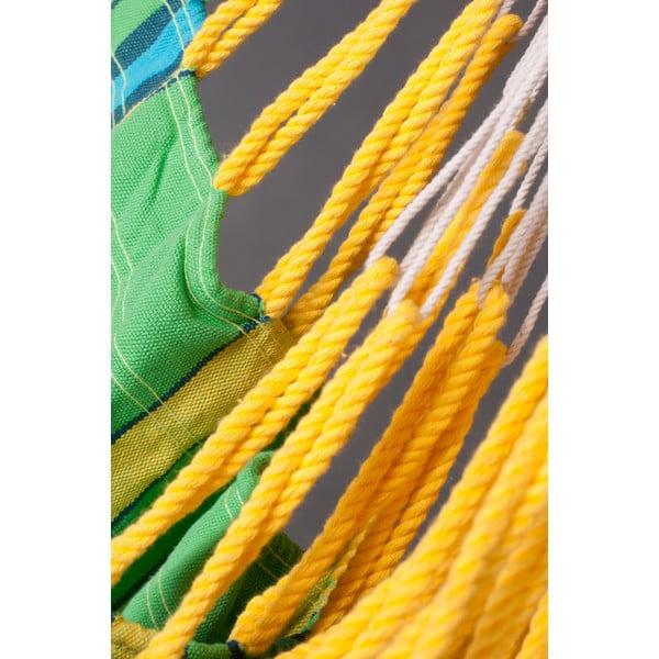 Houpací křeslo Currambera, zelená