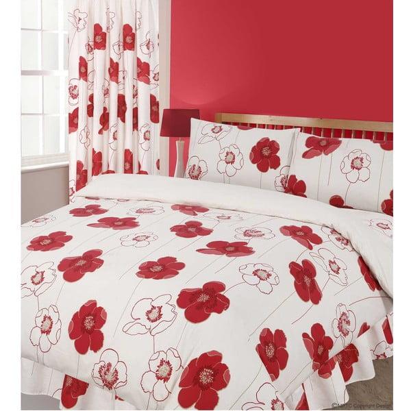 Povlečení Poppy Red, 135x200 cm