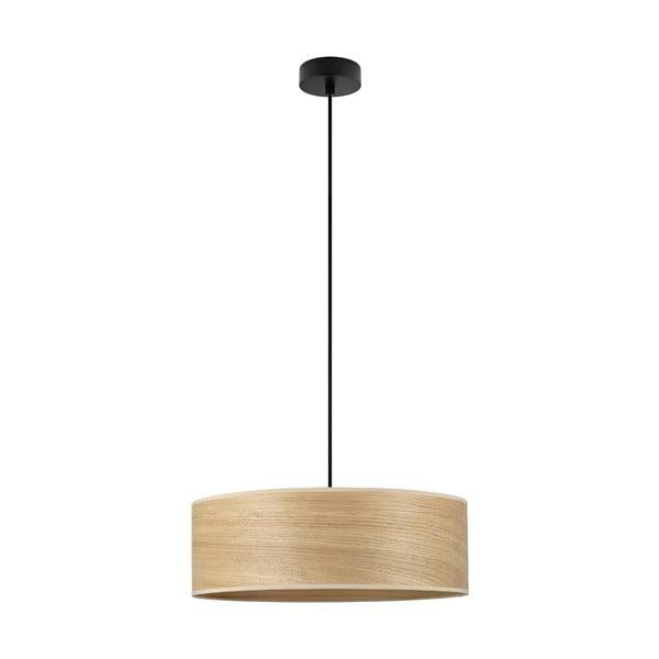Závěsné svítidlo se stínidlem ze dřeva dubu Sotto Luce TSURI XL