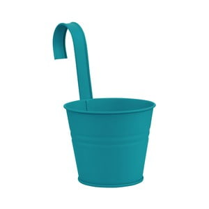 Modrý závěsný květináč Butlers Zinc, Ø13cm