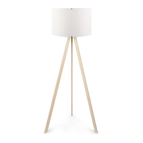 Biała lampa stojąca Aror