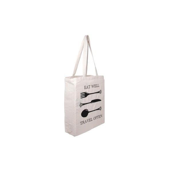 Plátěná taška Tri-Coastal Design Eat Well