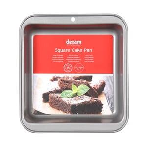 Pečící forma na dort s nepřilnavým povrchem Dexam Square Cake, 23x23cm
