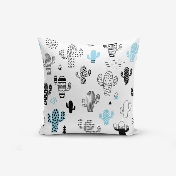 Față de pernă cu amestec din bumbac Minimalist Cushion Covers With Points Col Bitkisi, 45 x 45 cm