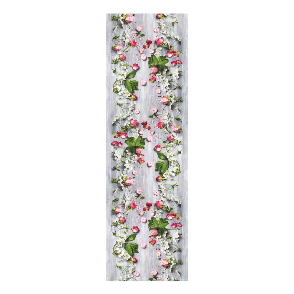 Vysoce odolný běhoun Webtappeti Rose, 58x140cm