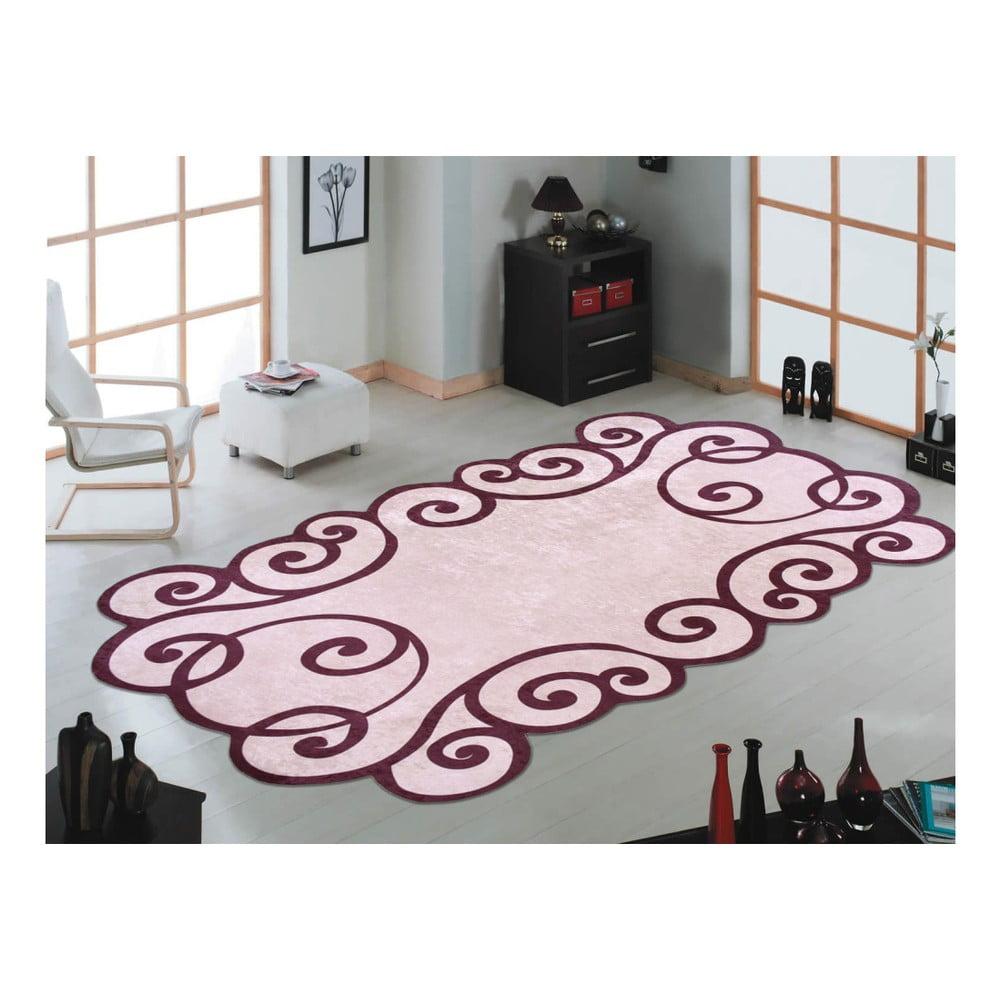 Odolný koberec Vitaus Gunna Kahve, 80 x 150 cm