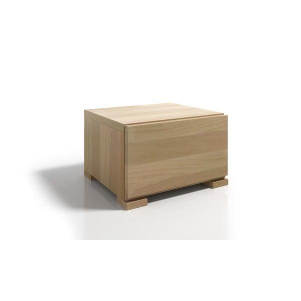 Noptieră din lemn de fag cu sertar SKANDICA Vestre