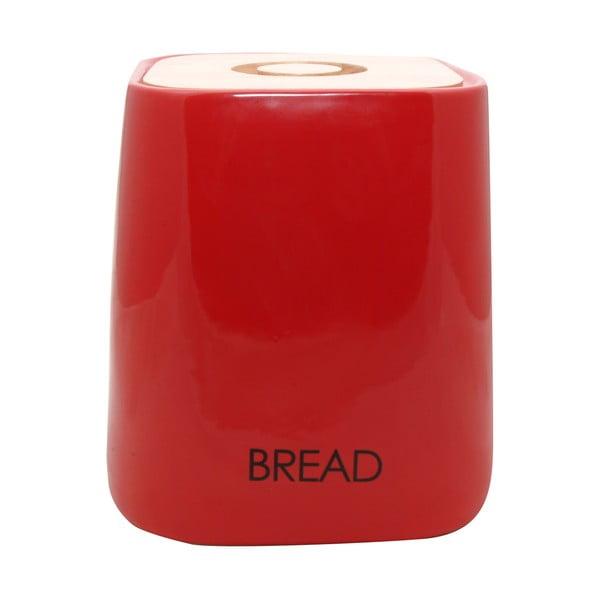 Dóza na pečivo Cubic Red