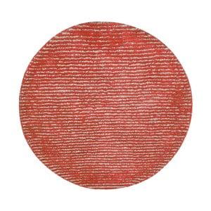 Ručně vyráběný koberec The Rug Republic Modeno Red, ⌀ 70 cm