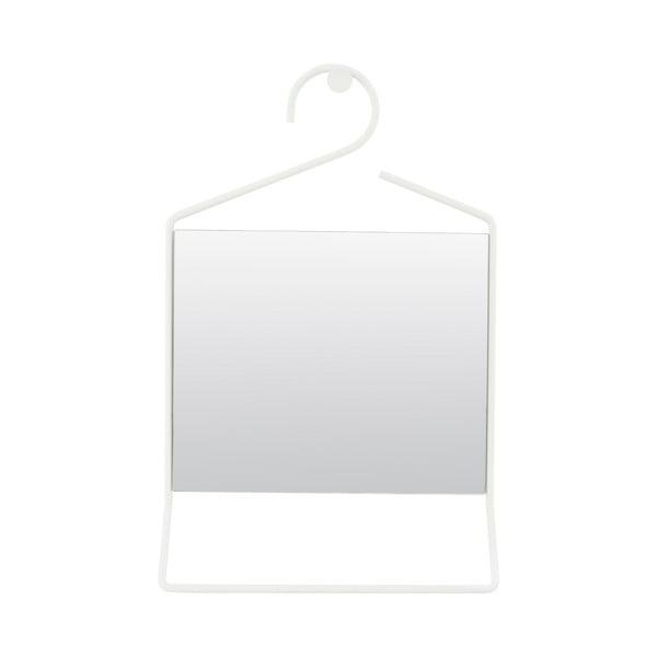 Závěsné zrcadlo Hang, bílé