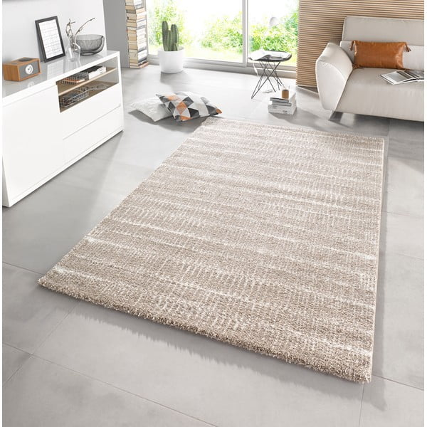 Béžový koberec Mint Rugs Lines, 120x170cm