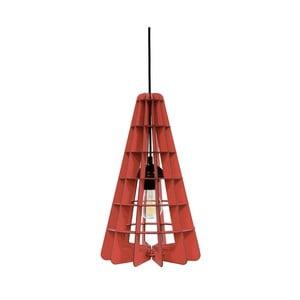 Svítidlo Conic, červené