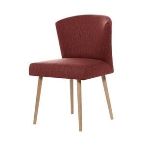 Cihlově červená jídelní židle My Pop Design Richter