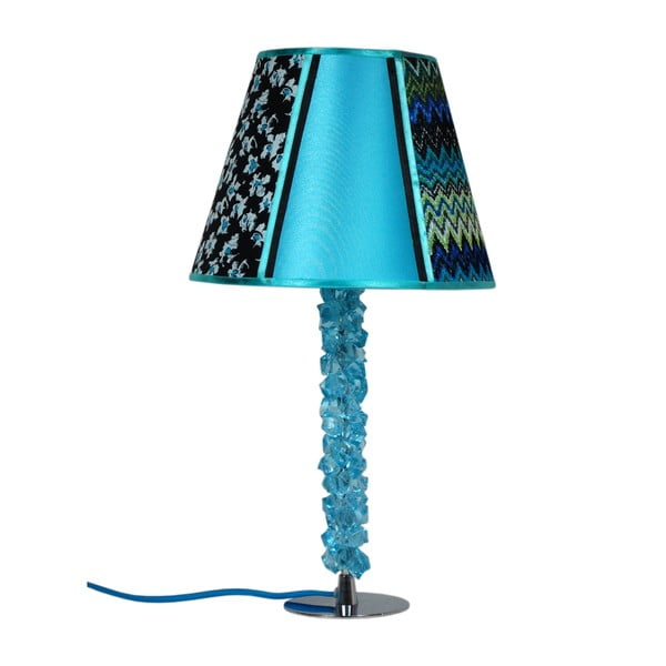 Stolní lampa Fureur Azur