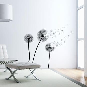 Set autocolante pentru perete Ambiance Flying Dandelions