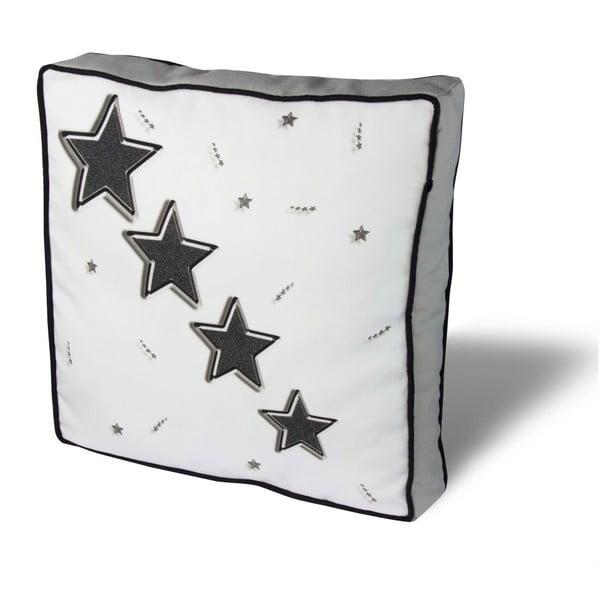 Pernă pentru scaun Gravel Four Stars, 42x42cm,cuumplutură