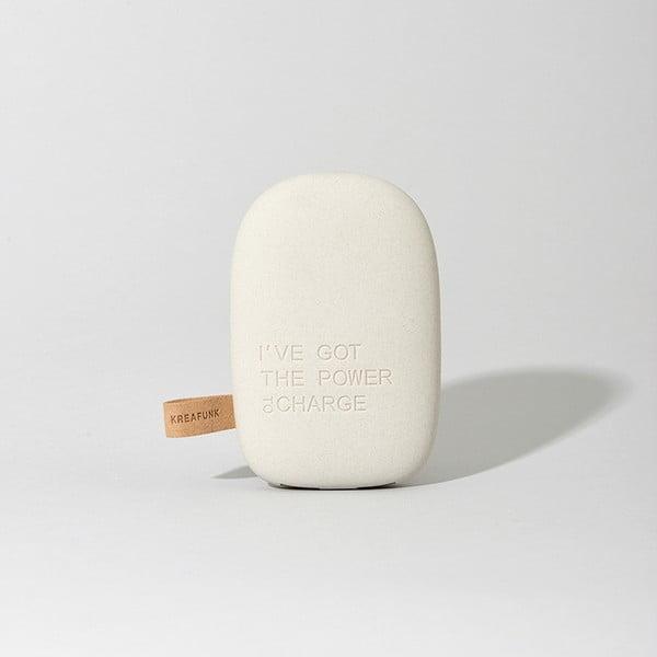 Cestovní nabíječka toCharge Light Grey