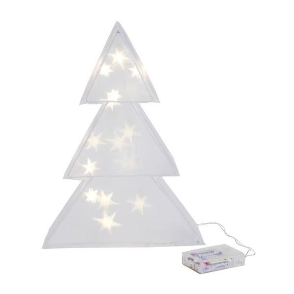 Svítící LED svícen 3D Tree