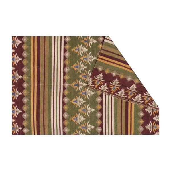 Vlněný koberec Kilim no. 716, 155x240 cm
