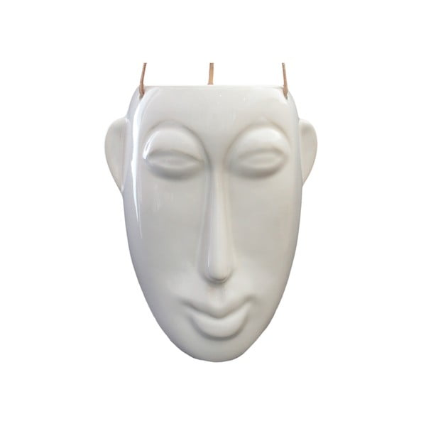 Mask fehér függőkaspó, magasság 22,3 cm - PT LIVING