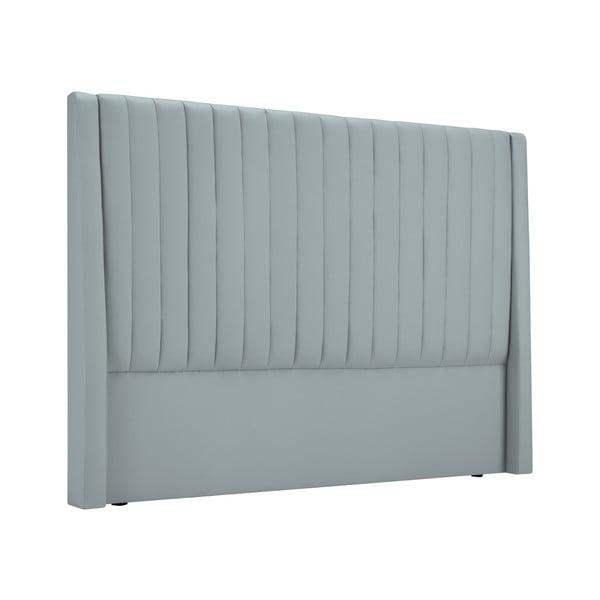 Čelo postele ve stříbrné barvě Cosmopolitan design Dallas, 160x120cm