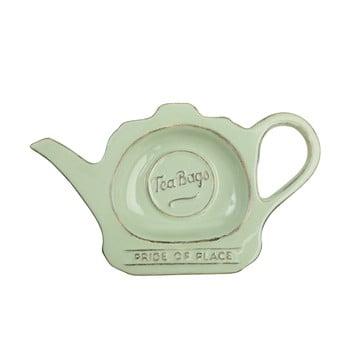Suport din ceramică pentru plicuri de ceai T&G Woodware Pride Of Place, verde de la T&G Woodware
