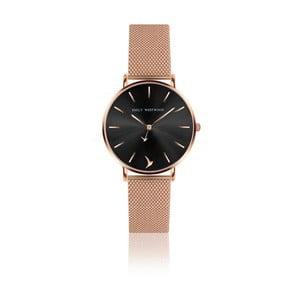 Dámské hodinky s páskem z nerezové oceli v růžovozlaté barvě Emily Westwood Claire