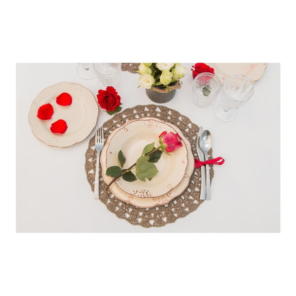 18dílný set nádobí Villa d'Este Duchessa Bianco