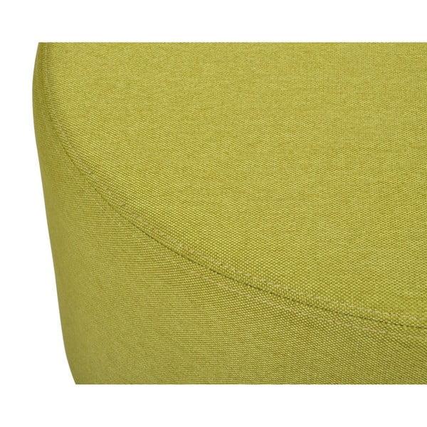 Zelená stolička Garageeight Molde s odnímatelným vrškem, velikost L