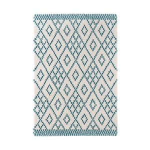 Covor Mint Rugs Ornament, 80 x 150 cm, albastru