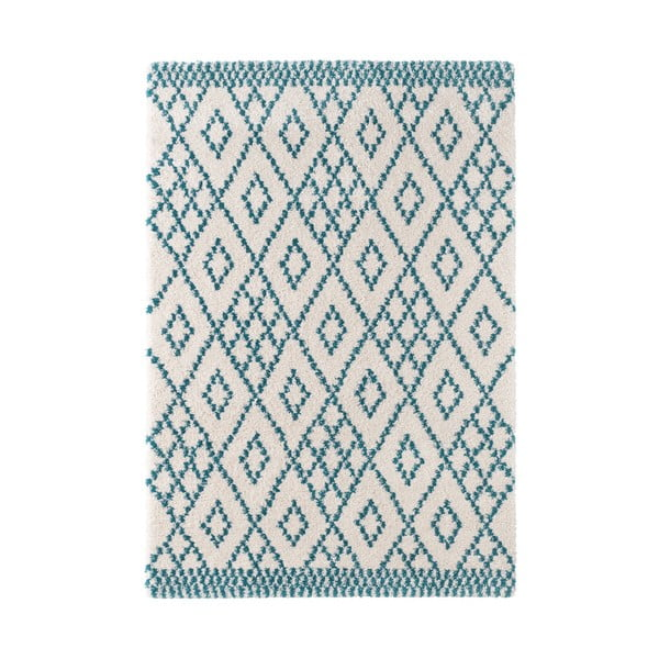 Modrý koberec Mint Rugs Ornament, 200x290cm