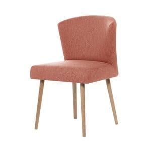 Broskvově oranžová jídelní židle My Pop Design Richter