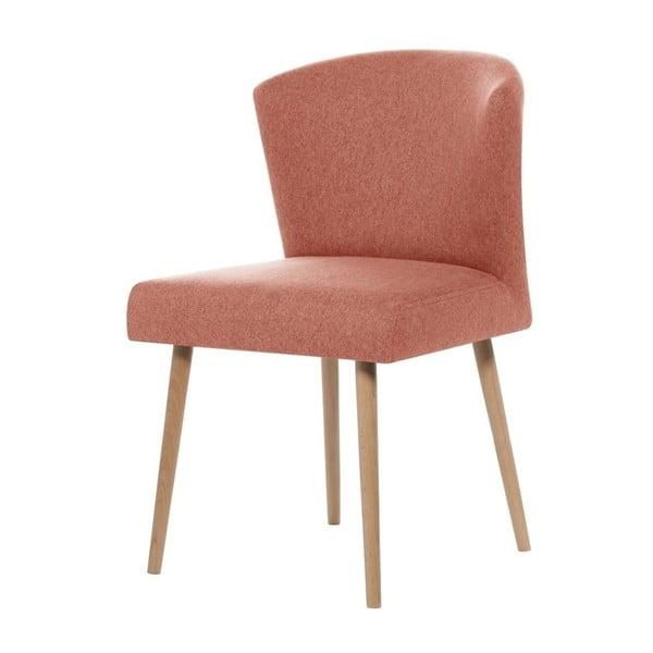 Broskyňovooranžová jedálenská stolička Rodier Richter