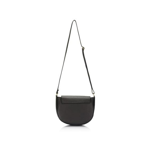 Kožená kabelka Lisa Minardi 5928 Black