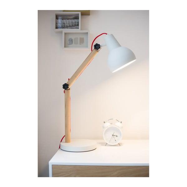 Bílá stolní lampa Zuiver Study